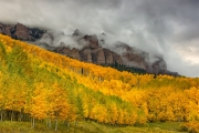 Clearing Storm at Cimarron Mountain - San Juan Mountains Colorado