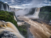 The mighty Iguassu Falls - Iguassu Falls, Brazil