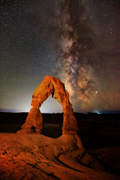 Delicate Arch at 1 AM - Arches NP, Utah
