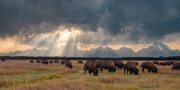 Storm over the Tetons - Grand Teton National Park